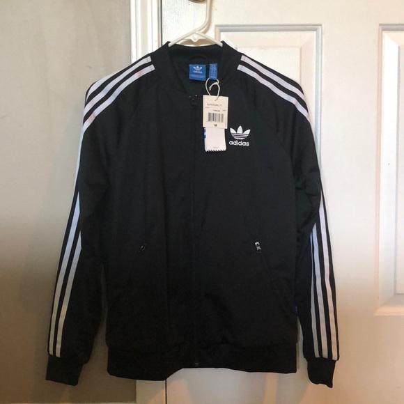 Black adidas jacket NWT